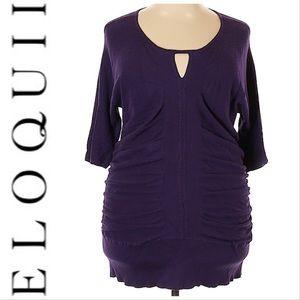 🆕Eloquii Purple Shirt